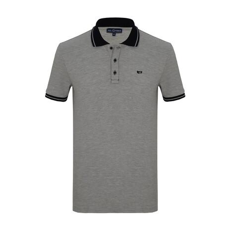 Tyler Short Sleeve Polo // Gray (S)