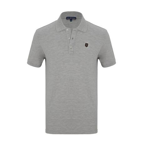 Owain Short Sleeve Polo // Gray (S)