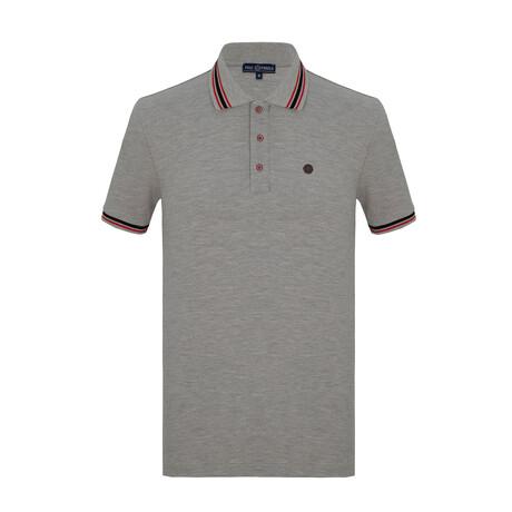 Jose Short Sleeve Polo // Gray (S)