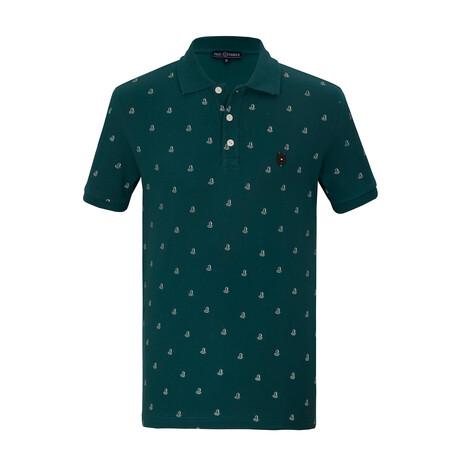 Ryan Short Sleeve Polo // Green (S)