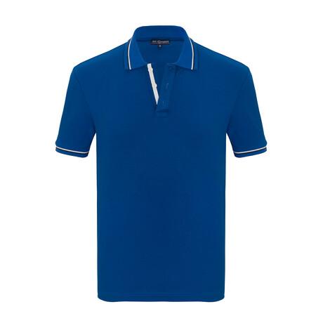 Elmer Short Sleeve Polo // Sax (S)
