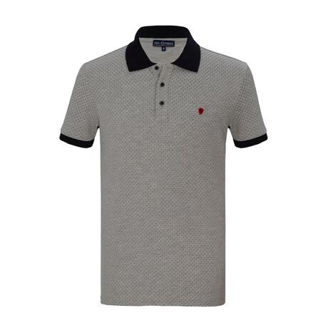 Farhan Short Sleeve Polo // Gray (S)