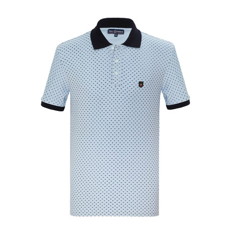 Hashim Short Sleeve Polo // Ligth Blue (S)