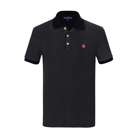 Xavier Short Sleeve Polo // Navy (S)