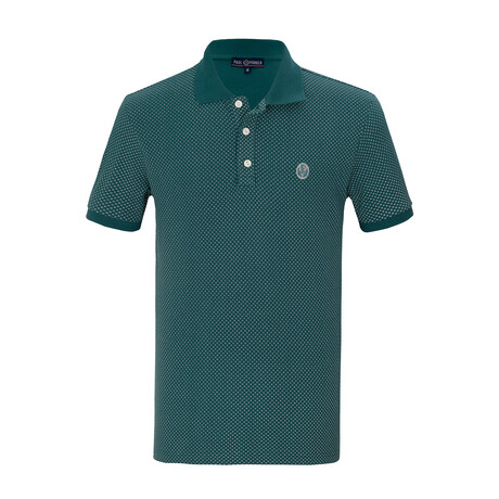Glenn Short Sleeve Polo // Green (S)