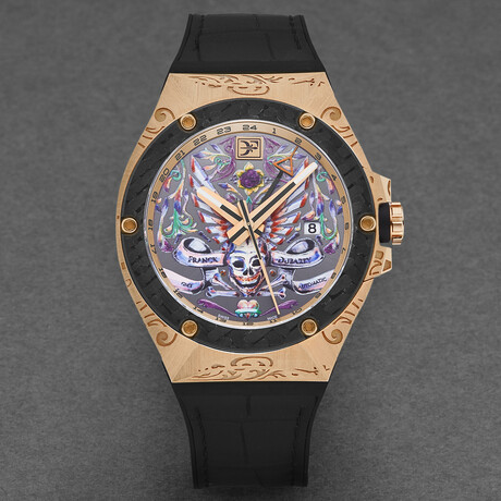 Franck Dubarry Fileteado GMT Automatic // REV-05-01