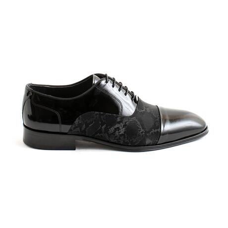 Vlasov Lace-Up Dress Shoes // Black Python (Euro 40)