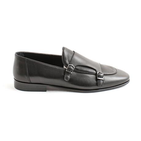 Cepeda Buckle Loafers // Black (Euro 40)