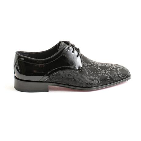 Edet Dress Shoe // Black Python (Euro 40)