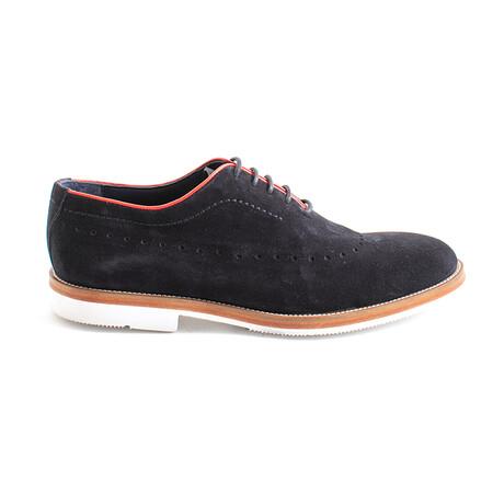Bidard Suede Dress Shoes // Black (Euro 40)