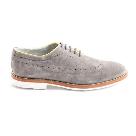 Bidard Suede Dress Shoes // Gray (Euro 40)