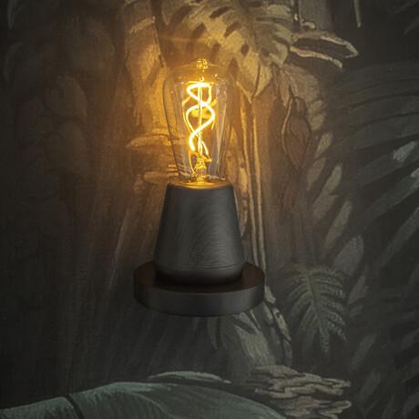 ONE Table Light // Black Wood
