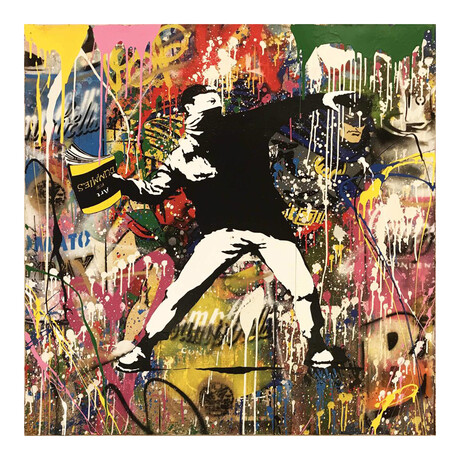 Mr. Brainwash // Banksy Thrower  // 2017