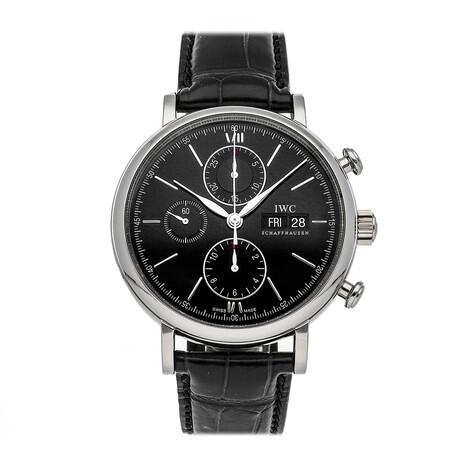 IWC Portofino Chronograph Automatic // IW3910-02 // Pre-Owned