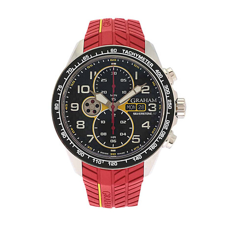 Graham Silverstone Rs Racing Chronograph Automatic // 2STEA.B15A-S // Store Display