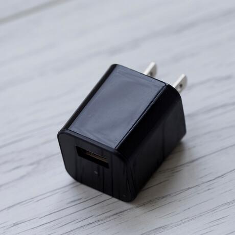 USB Charger Camera + MicroSD Reader