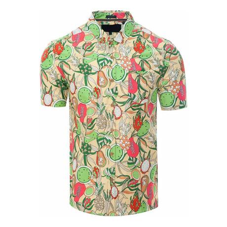 Fruity Shirt // Yellow (S)