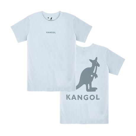 Kangol Block Logo Graphic Tee // White (S)