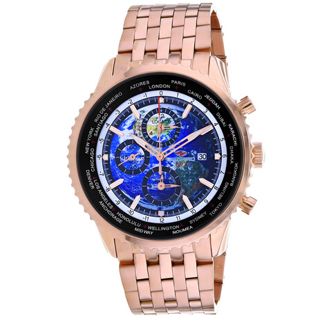 Seapro Meridian World Timer GMT Quartz // SP7321