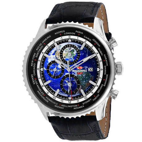 Seapro Meridian World Timer GMT Quartz // SP7130
