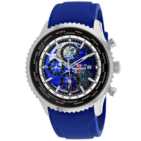 Seapro Meridian World Timer GMT Quartz // SP7521