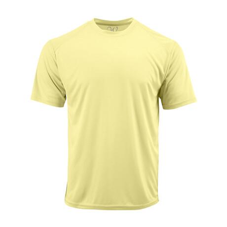 Performance Basics Dri-Tech Tee // Light Yellow (S)