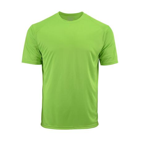 Performance Basics Dri-Tech Tee // Light Green (S)