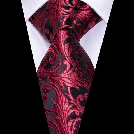 Mick Silk Tie // Maroon