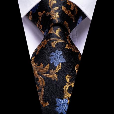 Prince Silk Tie // Black