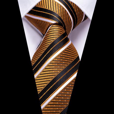Jayden Silk Tie // Bronze