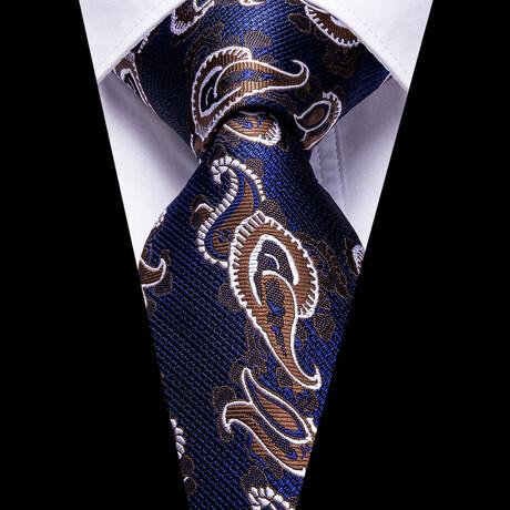 Oracle Silk Tie // Navy