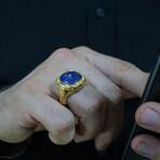 Natural Lapis Lazuli Ring (8)