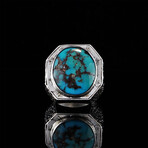 Natural Turquoise Ring (5.5)