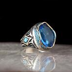 Unique Blue Topaz Ring (9)