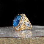 Large Blue Topaz Ring (5)