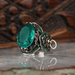 Green Tourmaline Ring (7)