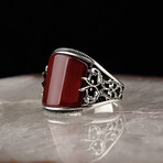Curved Agate Ring (6)