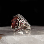 Unique Amber Ring (6.5)