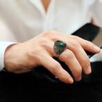 Chic Green Gemstone Ring (8)