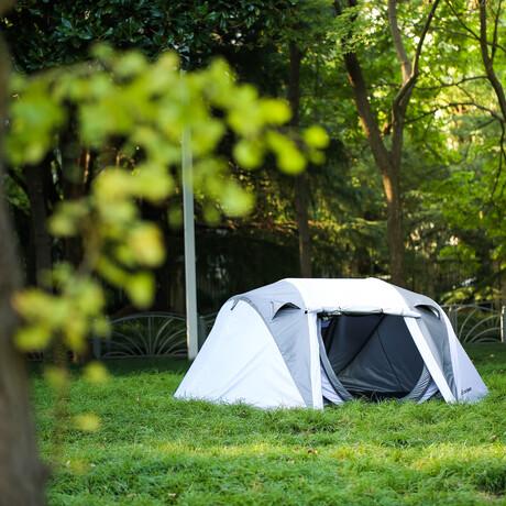 EchoSmile Pop-Up Tent + Rain Fly // 4-6 Person