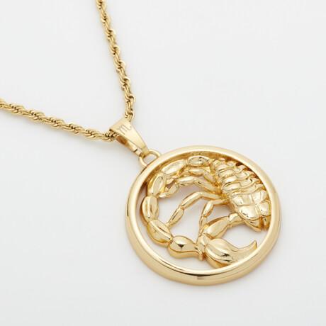 Eternally Scorpio Necklace