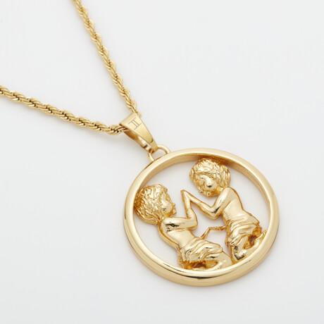 Eternally Gemini Necklace