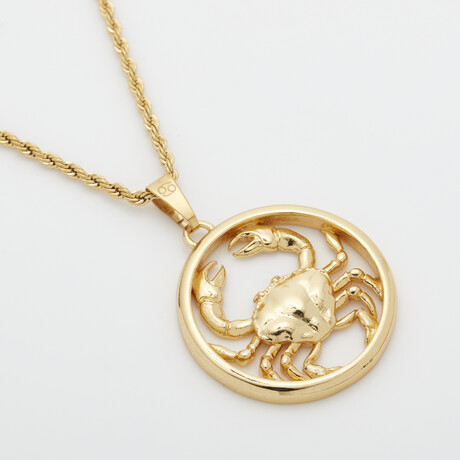 Eternally Cancer Necklace