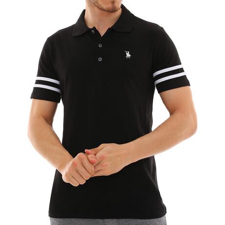 Sagan Polo Shirt // Black (Small)
