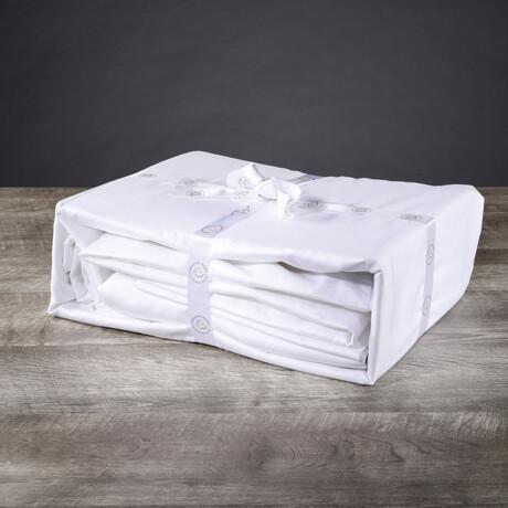 Organic Cotton Sheet Set // White (Twin XL)