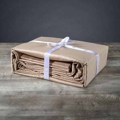 Organic Cotton Sheet Set // Beige (Twin XL)