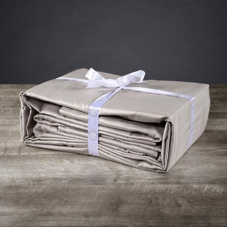 Organic Cotton Sheet Set // Gray (Twin XL)