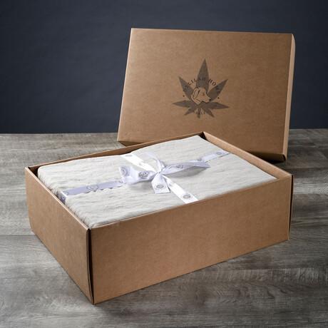 Organic Hemp Sheet Set // Natural (Twin XL)