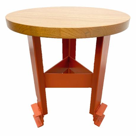 Side Table // Red Oak Top