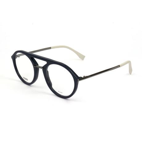 Men's M0034-PJP Optical Frames // Blue
